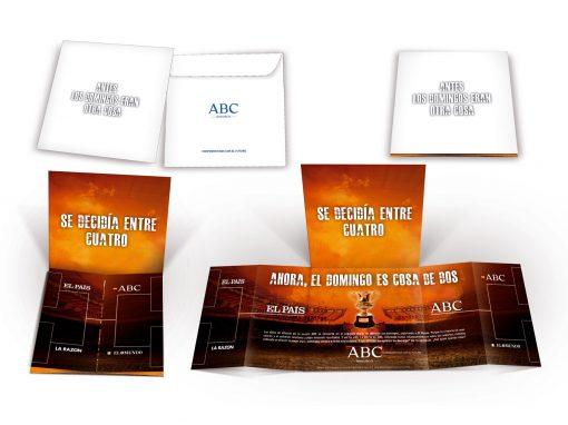 Folleto para Agencias de Medios Los Domingos de ABC
